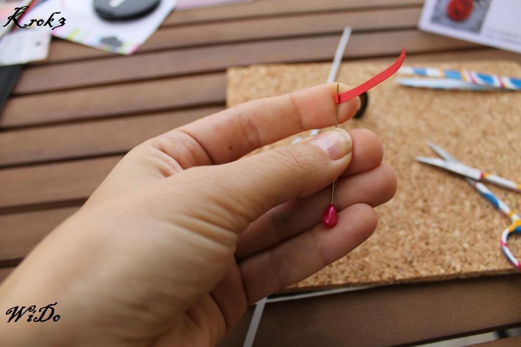 Krok 3 wido kurs 1024x682 Kurs tworzenia biżuterii z wykorzystaniem bazy na kaboszony oraz metody Quillingu