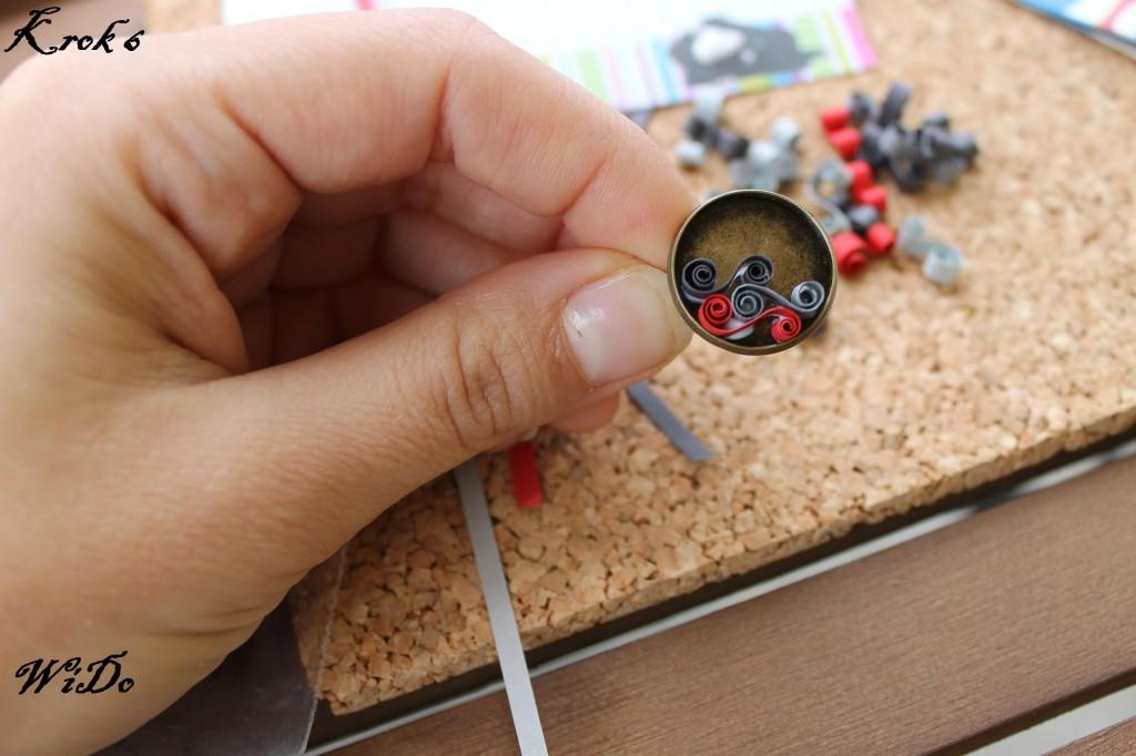 Krok 6 wido kurs 1024x682 Kurs tworzenia biżuterii z wykorzystaniem bazy na kaboszony oraz metody Quillingu