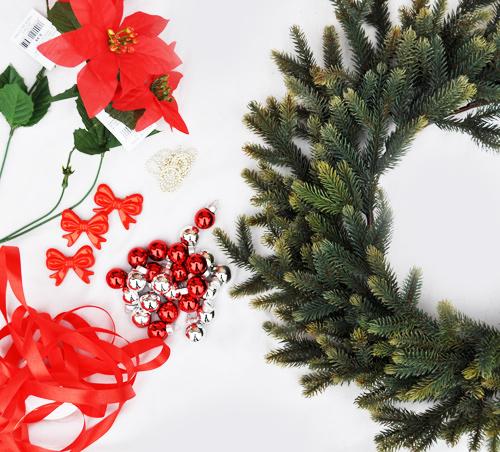 swiateczny wianek Święta 2012