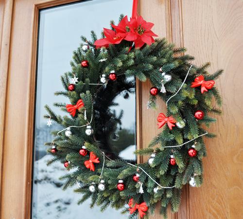 wianek swiateczny 2 Święta 2012
