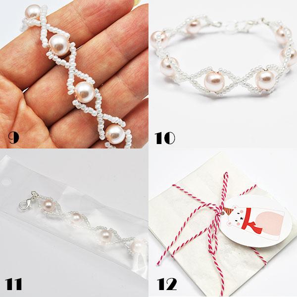 tutorial bransoletka perelki 03jpg Tutorial bransoletka z perełek  prezent dla mamy, siotry, babci